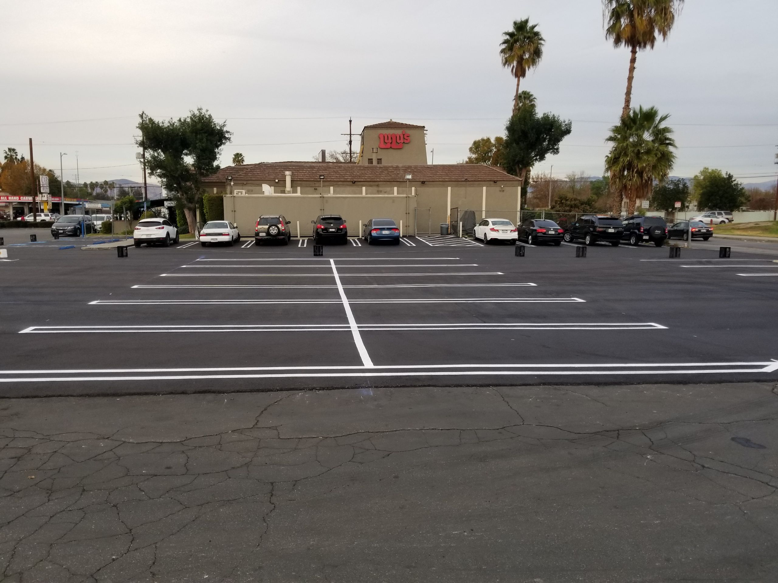 White Stripes Striping Company on Echelon Local | (678) 497-6593 | Parking Lot Striping and Seal Coating Services | Atlanta, Lawrenceville, Snellville