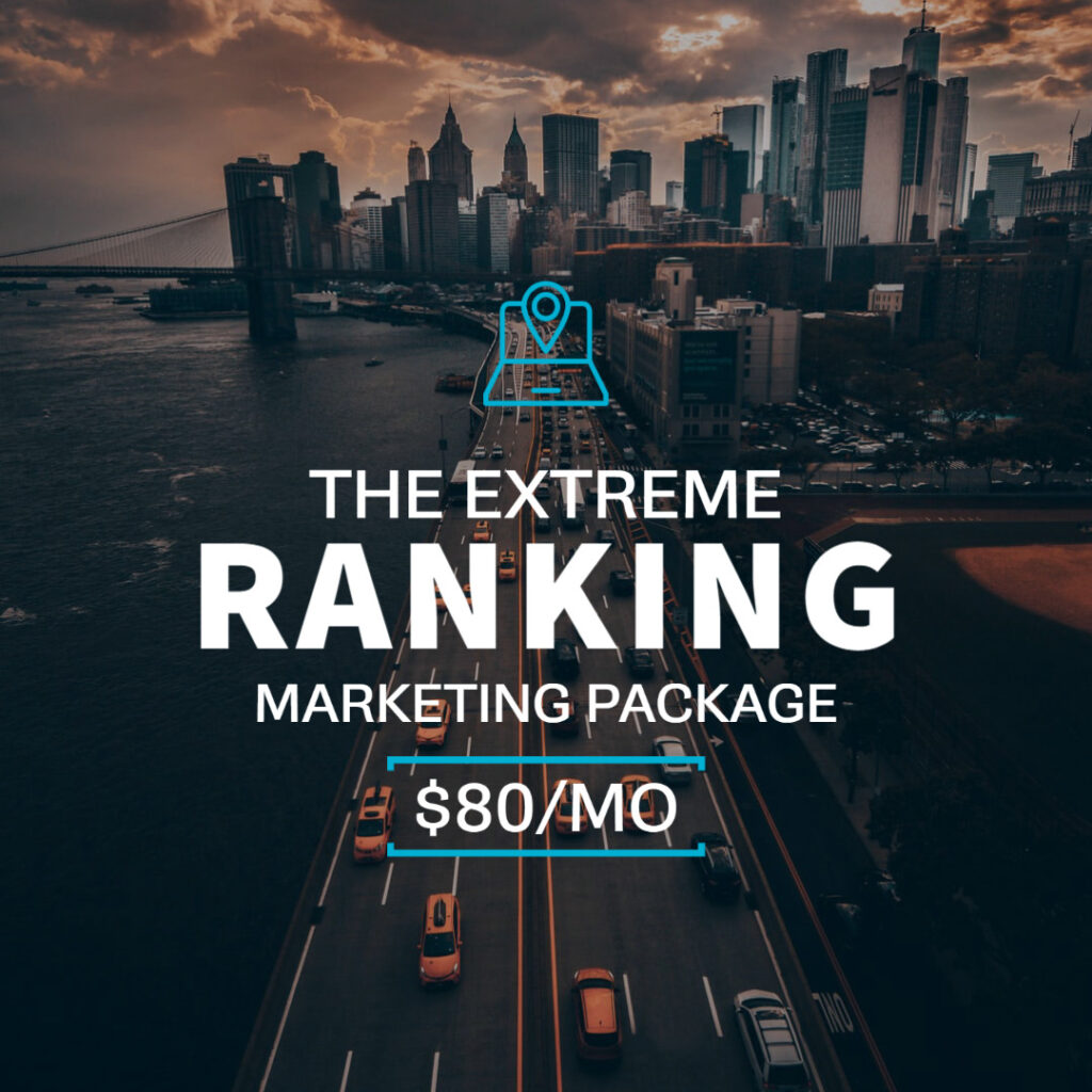 Rank In The City » Be On First Page In Search With Your Business | Search Visibility | Search Ranking | Extreme Ranking Marketing Package